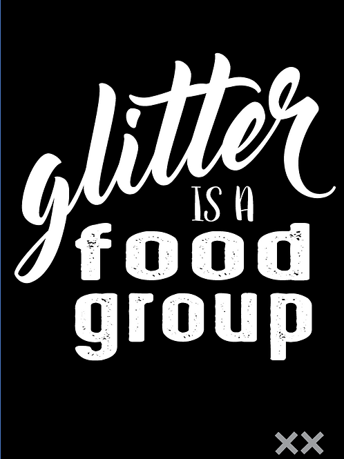 Glitter is a Food Group