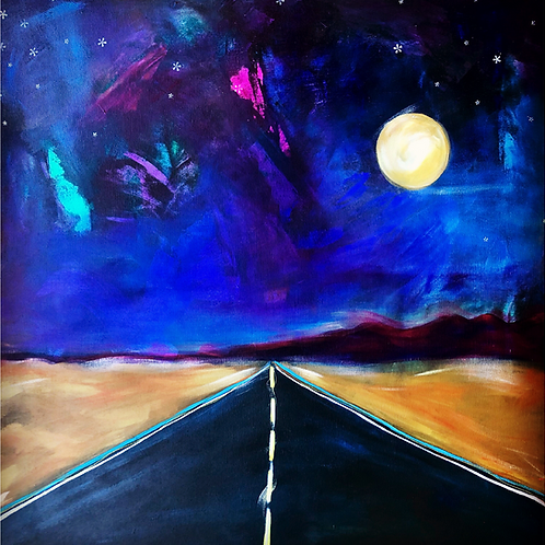 """Greeting Card of """"Summer Roads"""""""