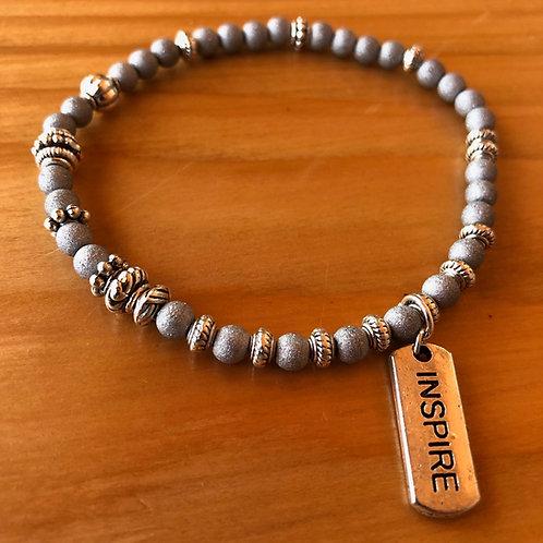 Silver Dust Inspire Bracelet