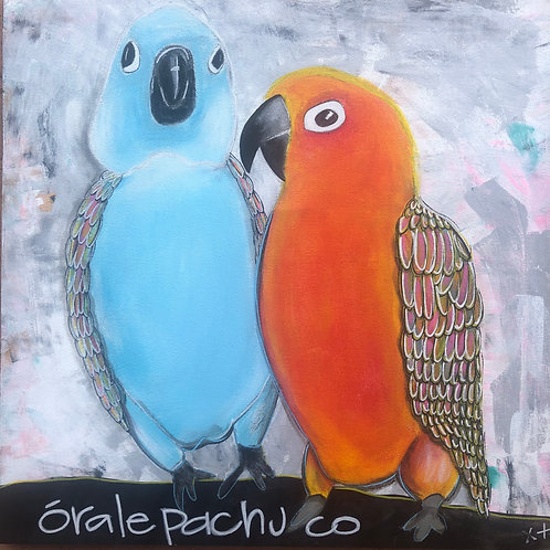 """Print of """"Orale Pachuco"""""""