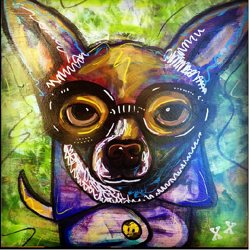 "Greeting Card of ""Chihuahua Confidential"""