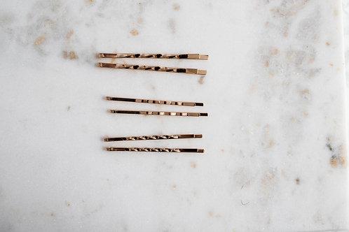 Haarnadel gold in verschiedenen Designs