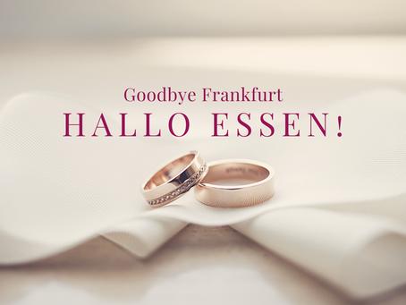 Goodbye Frankfurt und Hallo Essen