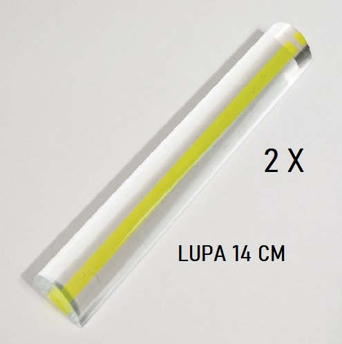 LUPA BARRA 2 X