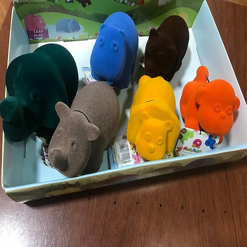 SET BRAILLE ANIMALES TACTILES SUAVES