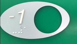 boton ascensor braille