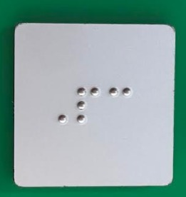 GRAVOPLY BRAILLE
