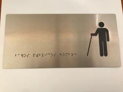 señaletica impresion braille