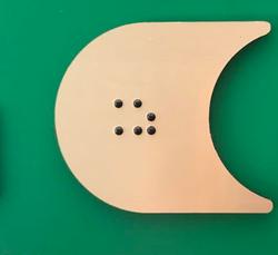 boton  gravoply braille