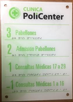 ACRILICO BLANCO CON INYECCION DE ESFERA.