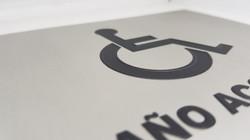 señaletica en braille 3d