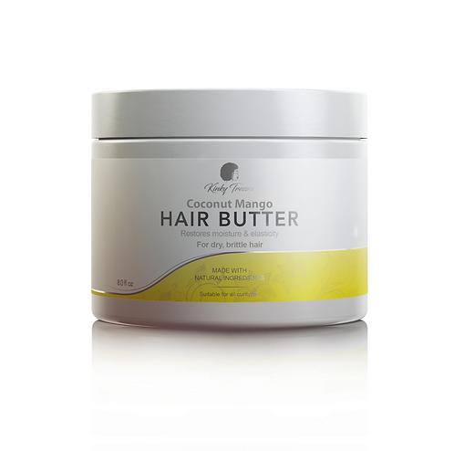 coconut mango hair butter