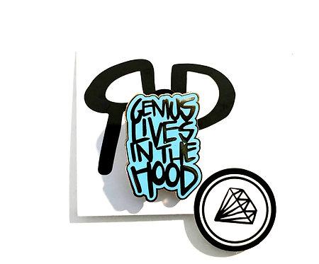genius lives in the hood