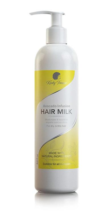 avocado infusion hair milk