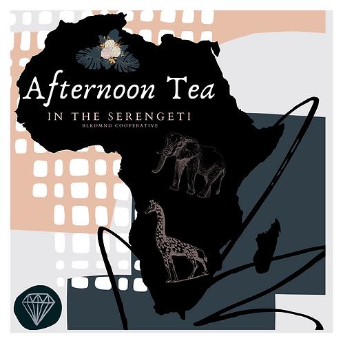 afternoon tea in the serengeti