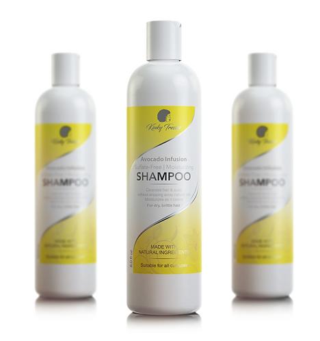 avocado infusion sulfate-free moisturizing shampoo