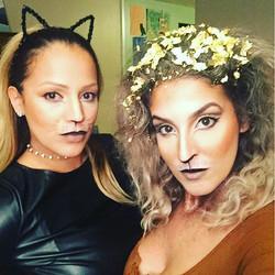 Feline crew #snazaroo #bennye #nyxcosmetics #elfcosmetics #tartecosmetics #makeupforever #rimua #mua