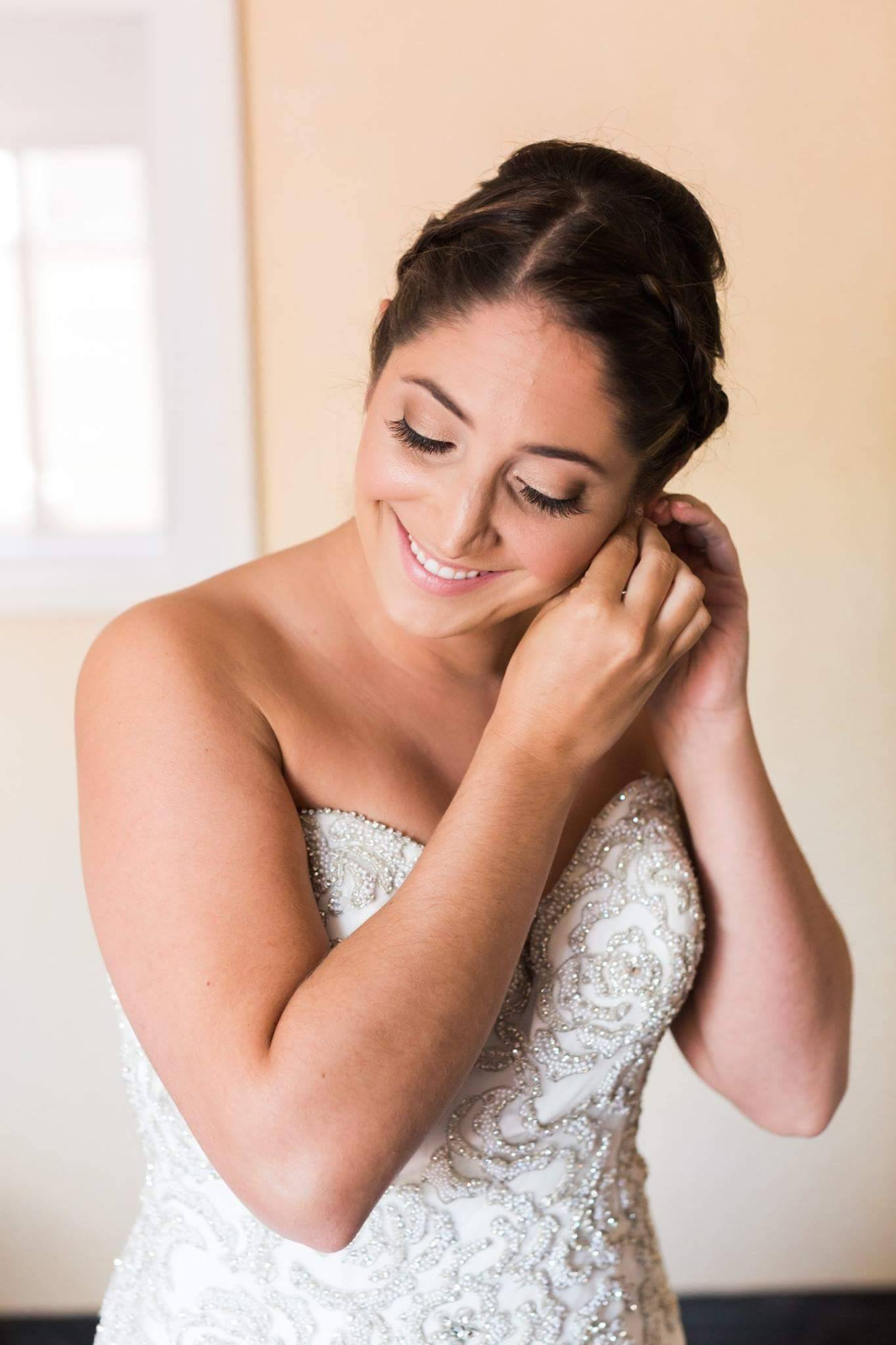 Gorgeous bride Meghan