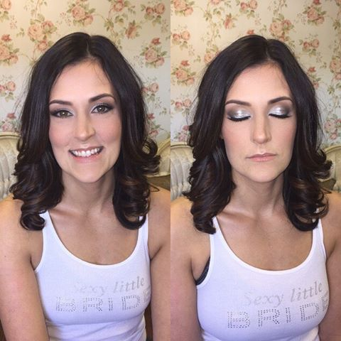 Hair and makeup by me