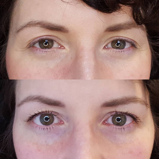 Lash Lift with a tint
