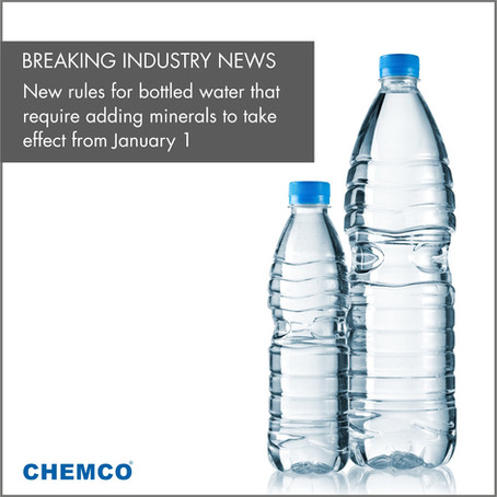 New Rules For Bottled Water That Require Adding Minerals To Finally Take Effect From January 1
