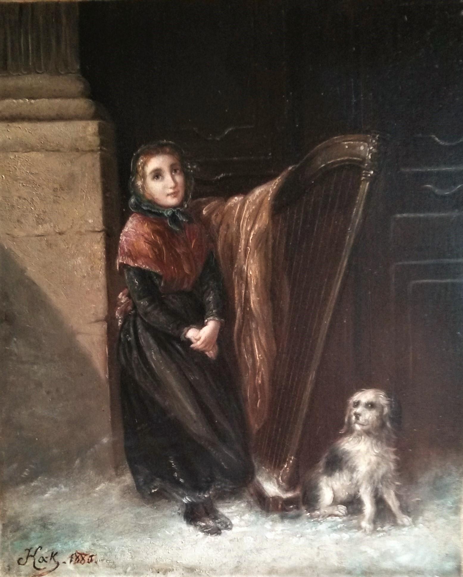 Restauration d'un tableau