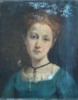 Restauration portrait de L. DOUX