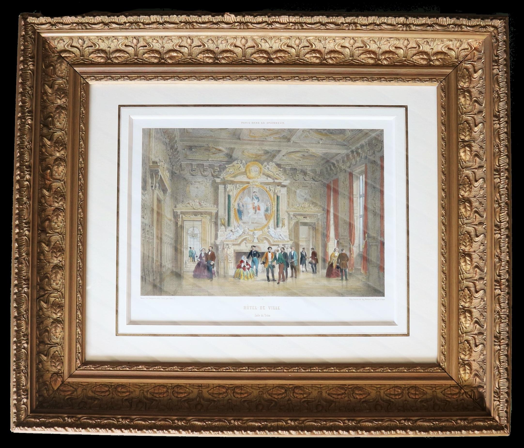 Encadrement style XIXème-art'encadre