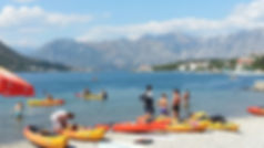 kayaking in kotor montenegro