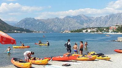 kayaking in kotor montenegro