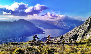Biking in Kotor Montenegro
