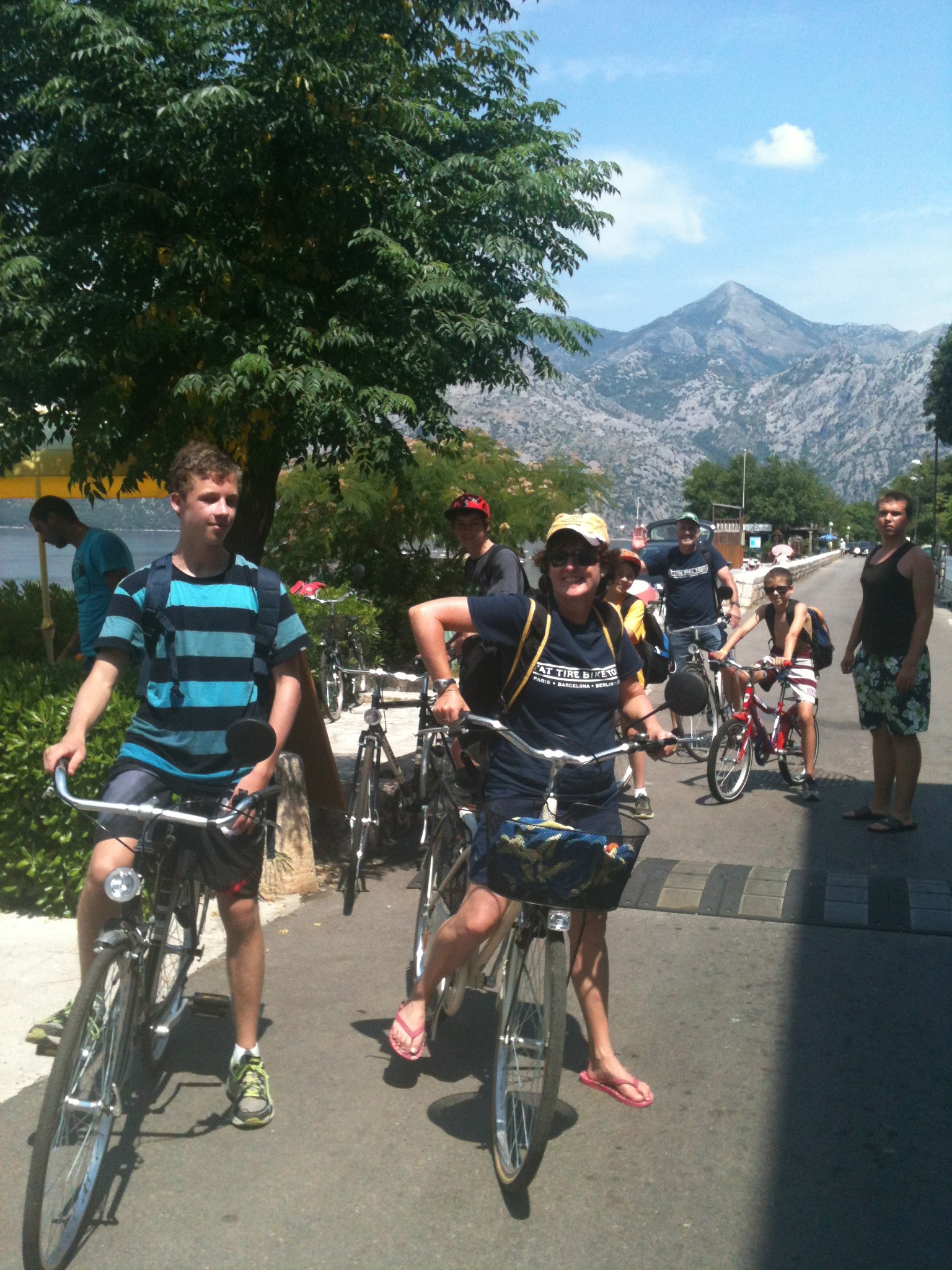 Fun family activity in Kotor