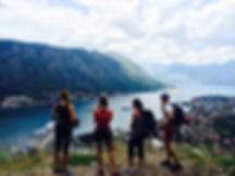 hiking in kotor montenegro
