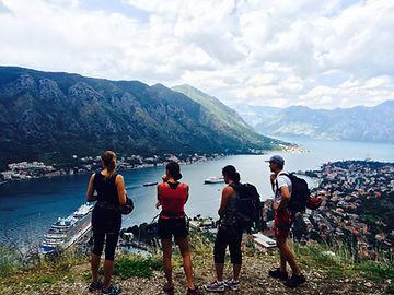 hiking in kotor montenegro