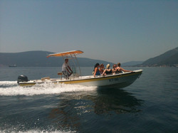 rent a boat in Kotor