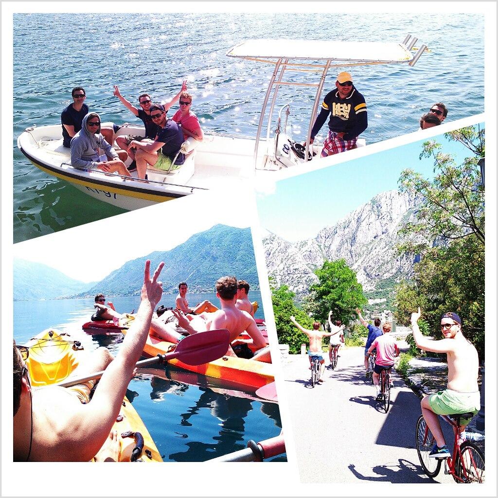 Biking, kayaking & boat tour in one