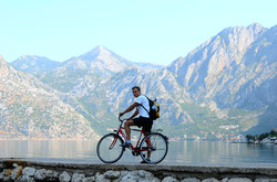 Biking around Kotor