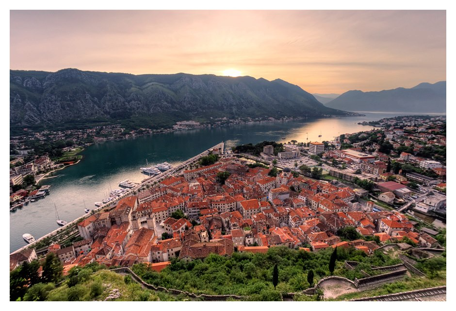 Join us for sunset hike above Kotor