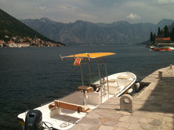 rent a boat to Perast
