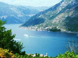 Beautiful view of Kotor Bay