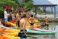 Kayaking for beginners too