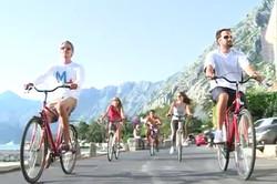 Biking in Kotor, Montenegro