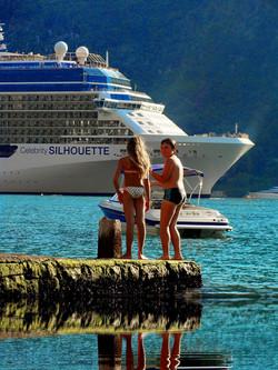 Celebrity Silhouette in Montenegro