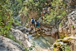 Canyoning Skurda river behind Kotor