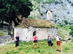 Abandoned village just behind Kotor