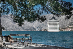 In Kotor on a cruise ship?