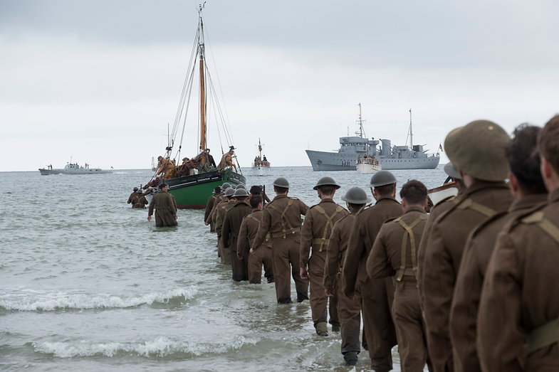 Image from the film, Dunkirk Photo by Melinda Sue Gordon  © 2017 WARNER BROS. ENTERTAINMENT INC. ALL RIGHTS RESERVED