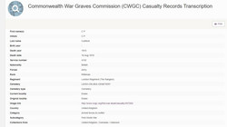 C P Culliford CWGC 1