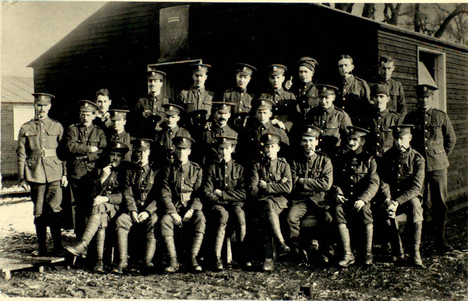 Artist's Rifles training1917