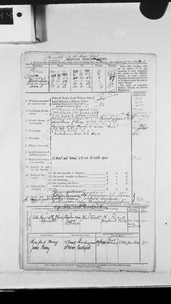 CH Brazier Service Record 2